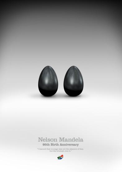 Mandela Coraje / Courage - Por Coco Cerrella