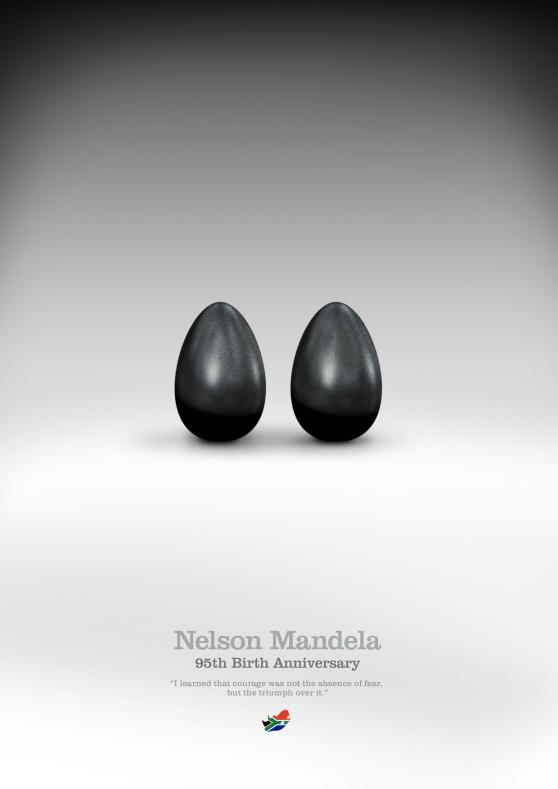 Mandela. Courage.