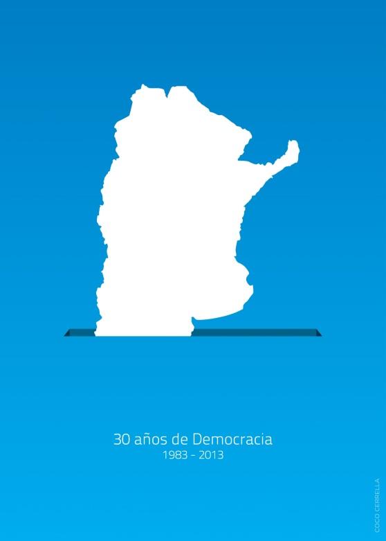 30 años Democracia en Argentina