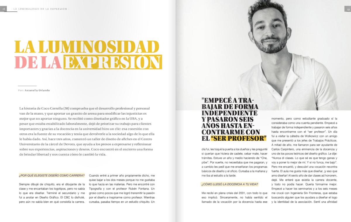 Coco Cerrella Revista Provocación