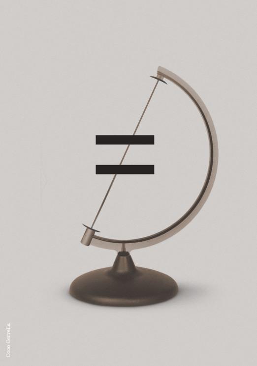 Igual / Equal - Serie IN MUNDO por Coco Cerrella
