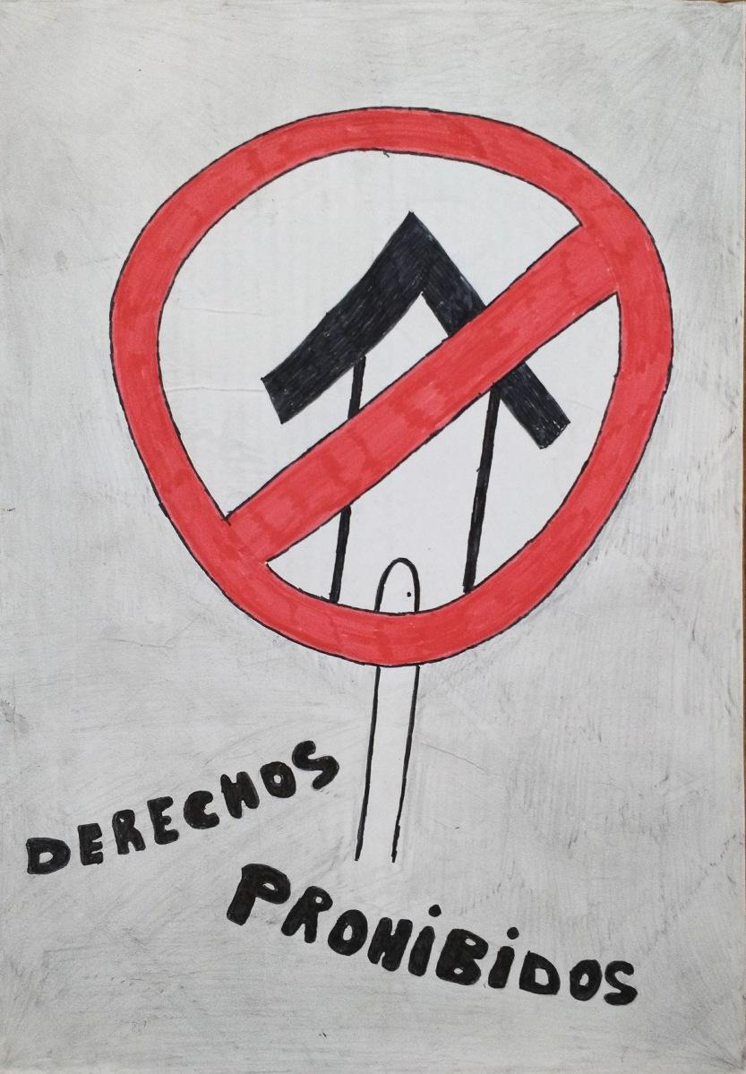 cárcel taller diseño social Coco Cerrella Social Design Poster Afiche Cartel DDHH Derecho Humanos Human Rights
